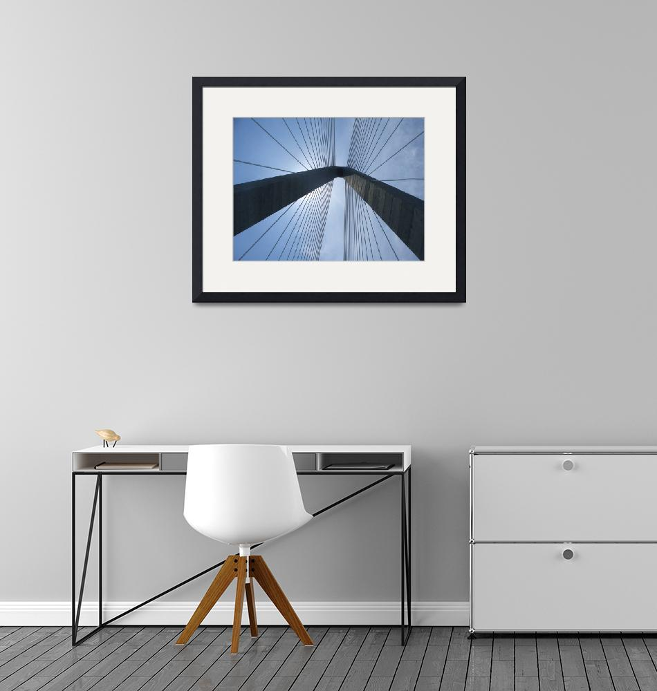 """New Cooper River Bridge No. 1""  (2003) by PadgettGallery"