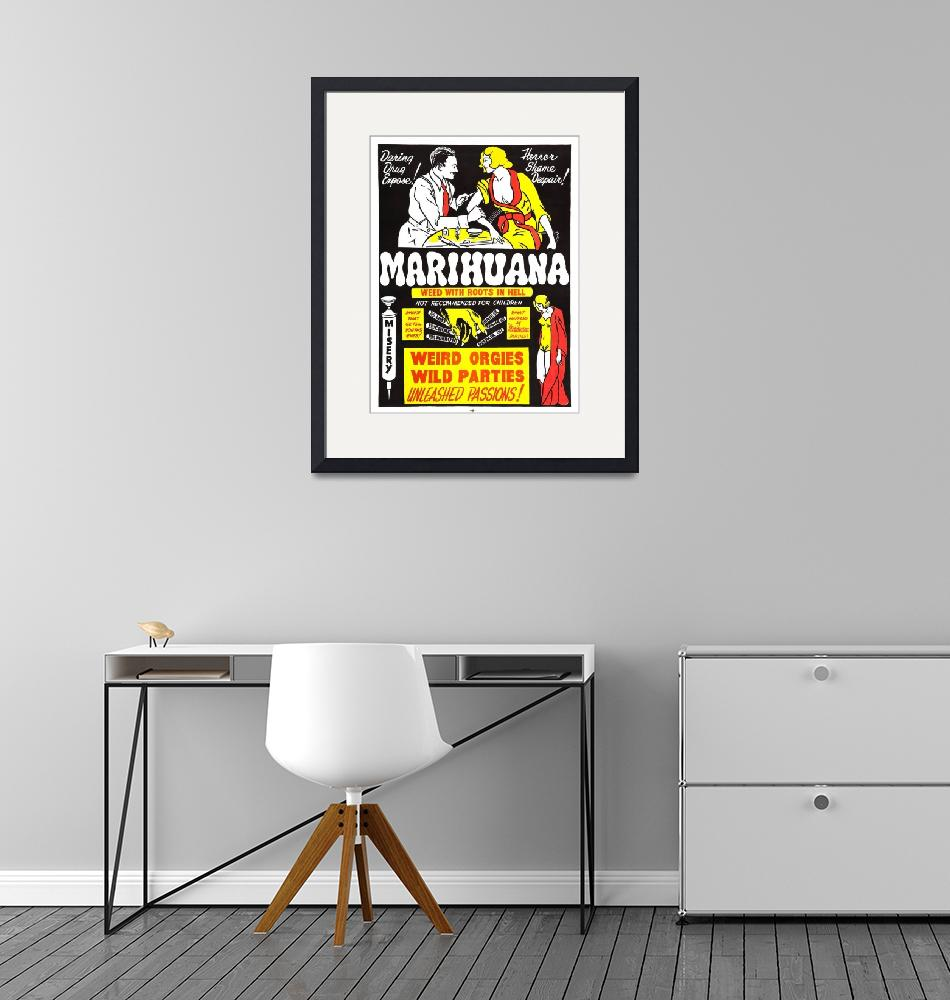 """""""marihuana_poster_01""""  by FineArtClassics"""