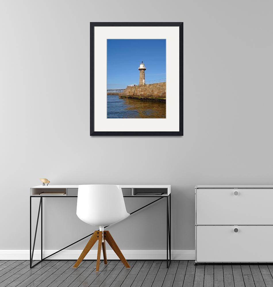 """""""East Pier Lighthouse, Whitby  (15585-RDA)""""  (2008) by rodjohnson"""