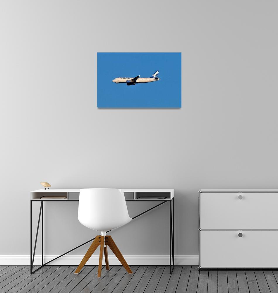 """Finnair A320""  (2009) by JoaoPonces"