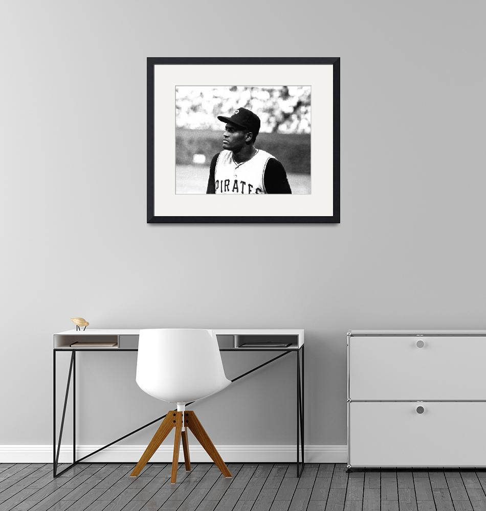 """Roberto Clemente""  by RetroImagesArchive"
