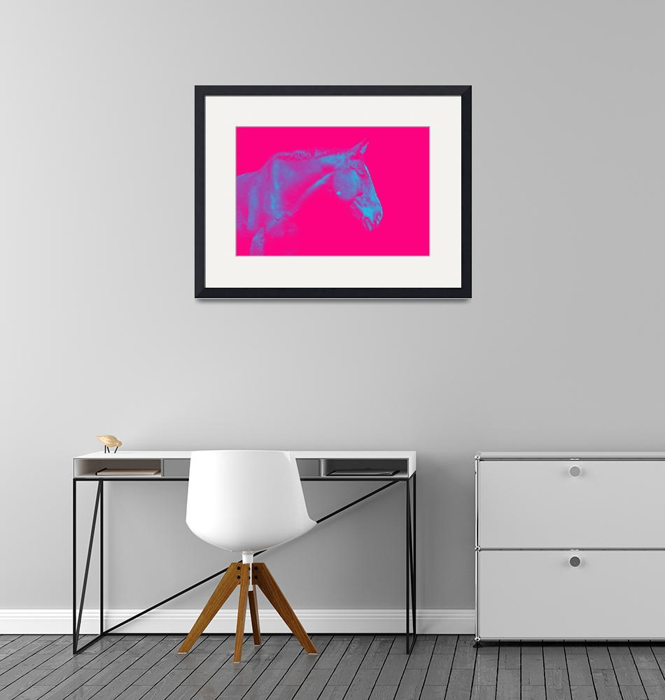 """""""Pink Horse""""  by motionage"""