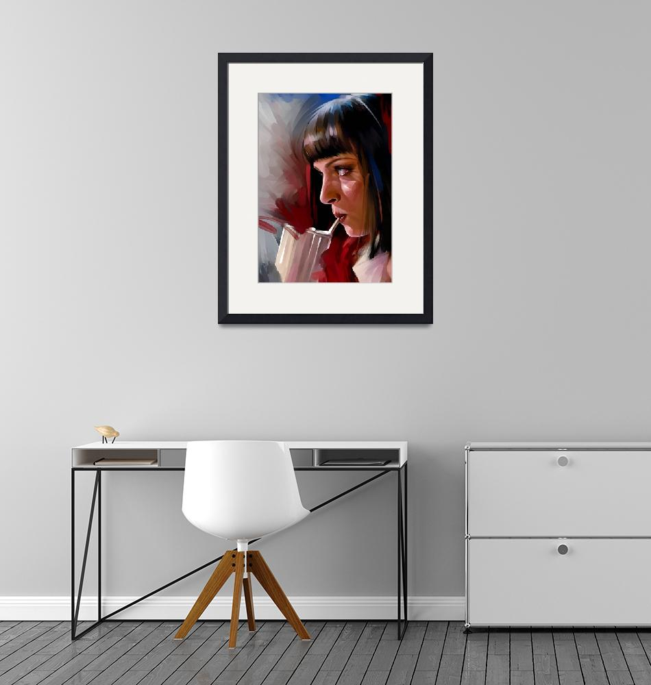 """""""Mia Wallace""""  by dmtry"""
