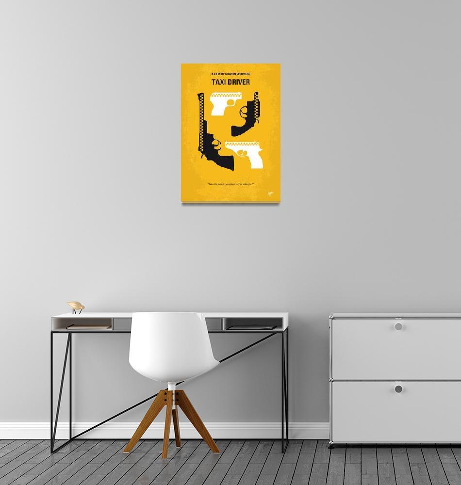 """No087 My Taxi Driver minimal movie poster""  by Chungkong"