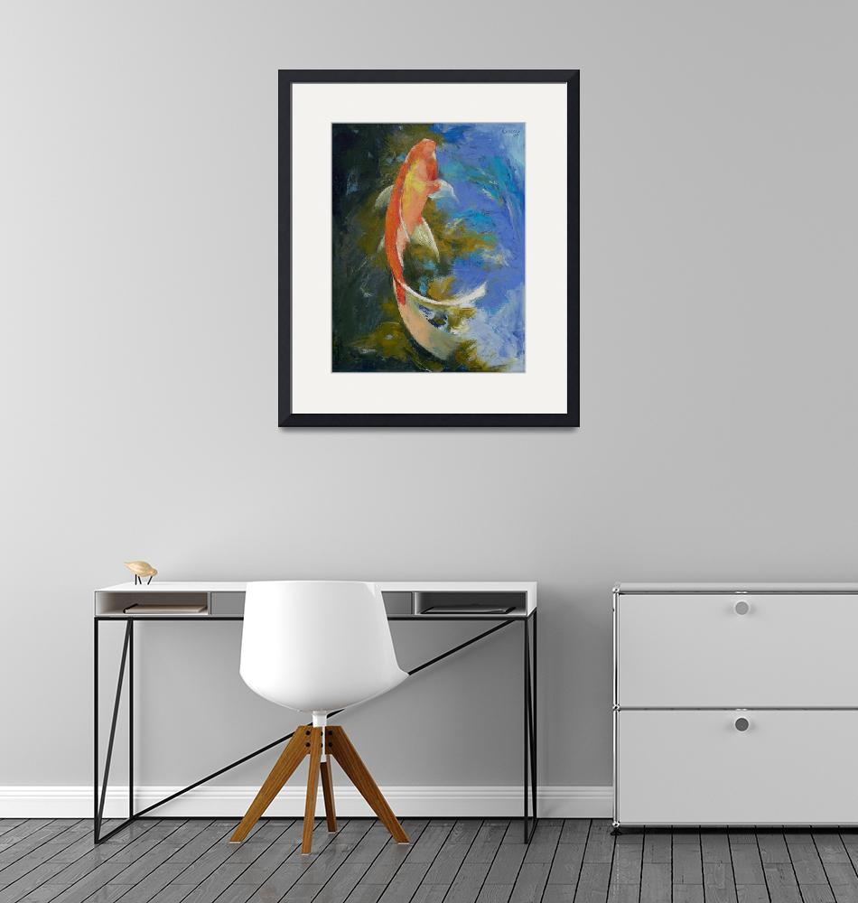 """Butterfly Koi Painting""  by creese"