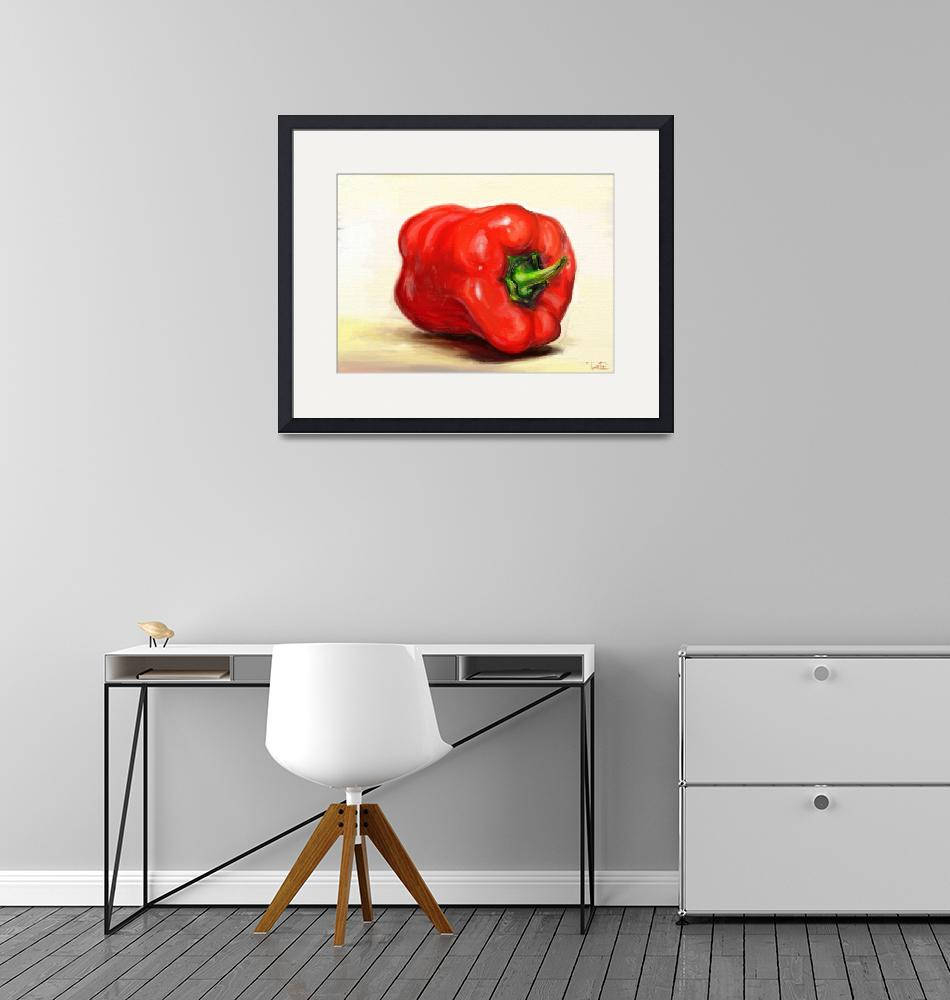 """""""Classic Still Life Paprika""""  (2011) by rustydoubleohseven"""