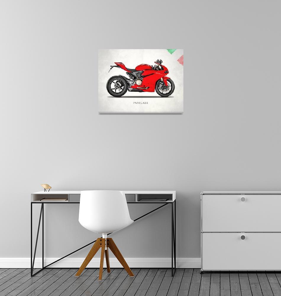 """Ducati Panigale 1299""  (2016) by mark-rogan"