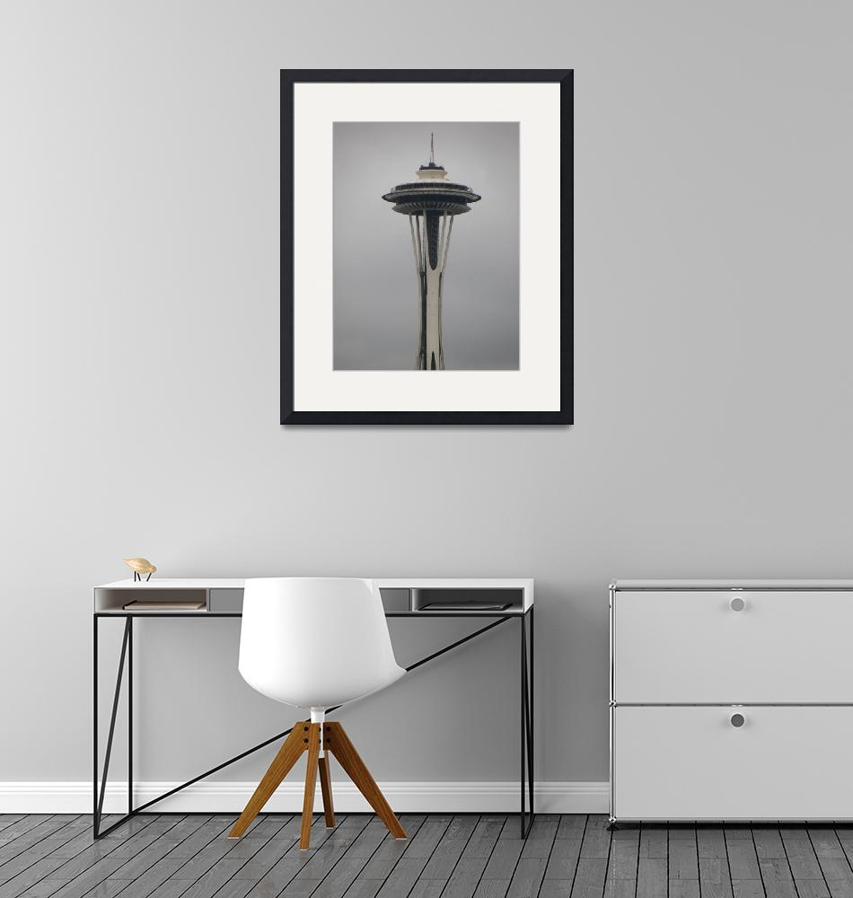 """""""Space Needle, Seattle"""" (2009) by rgtmum"""