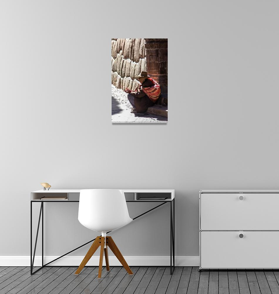 """Elderly Man  Cusco"" (2011) by mjphoto-graphics"