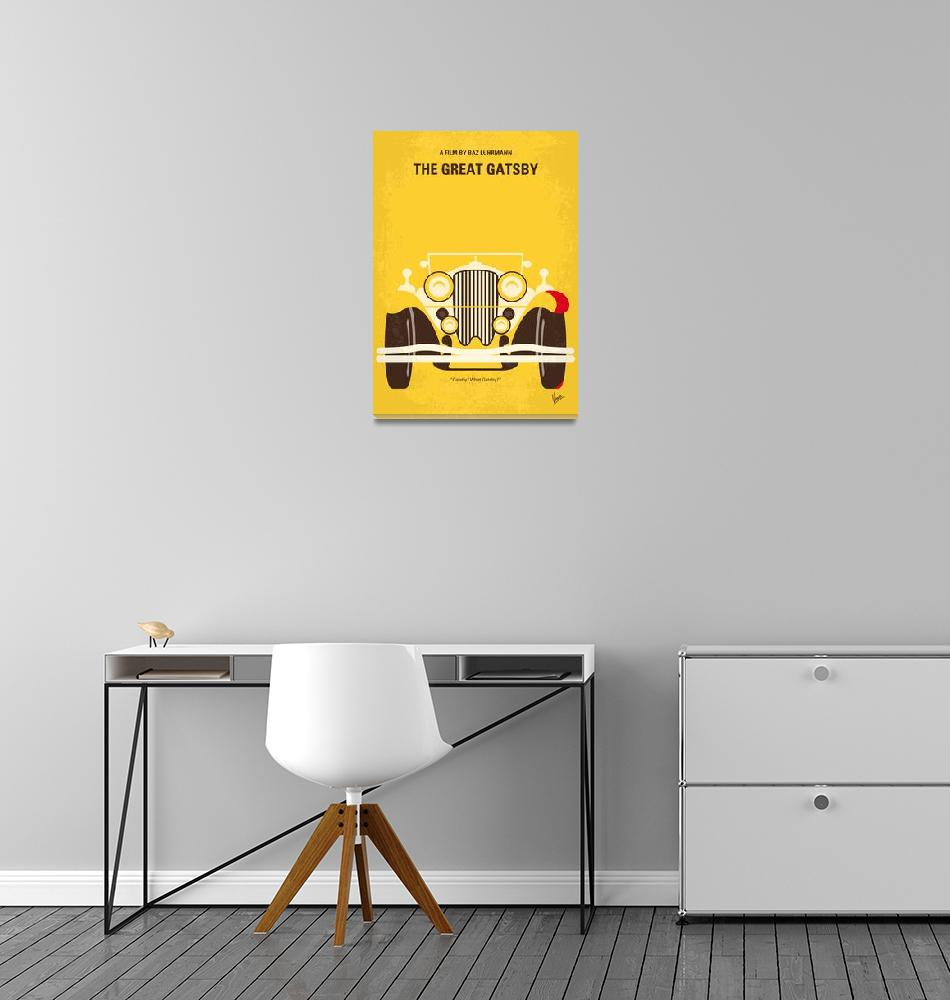 """""""No206 My The Great Gatsby minimal movie poster"""" by Chungkong"""