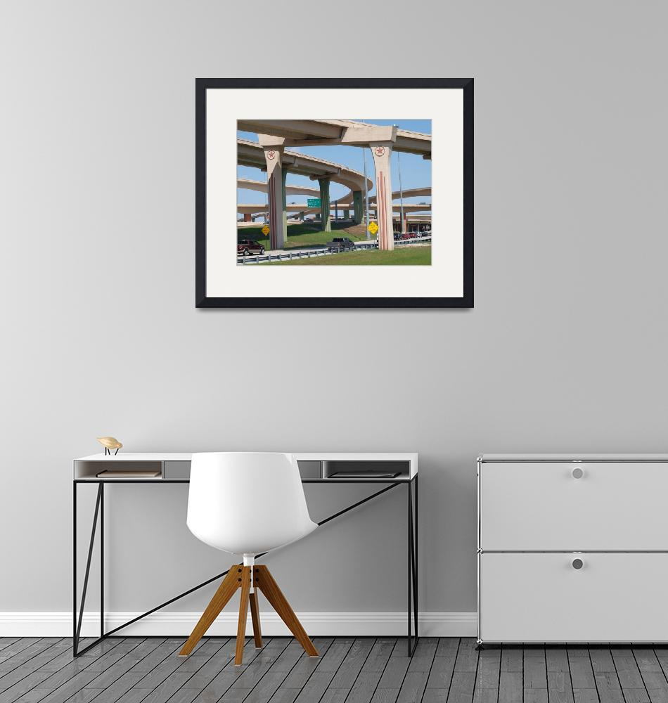 """""""The Dallas High 5 Interchange""""  (2014) by GlendinePhotography"""