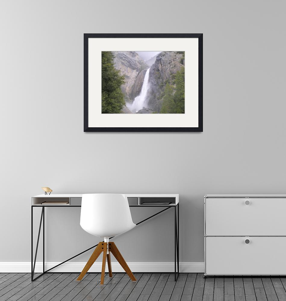 """Yosemite Falls""  by ganj1ltd"