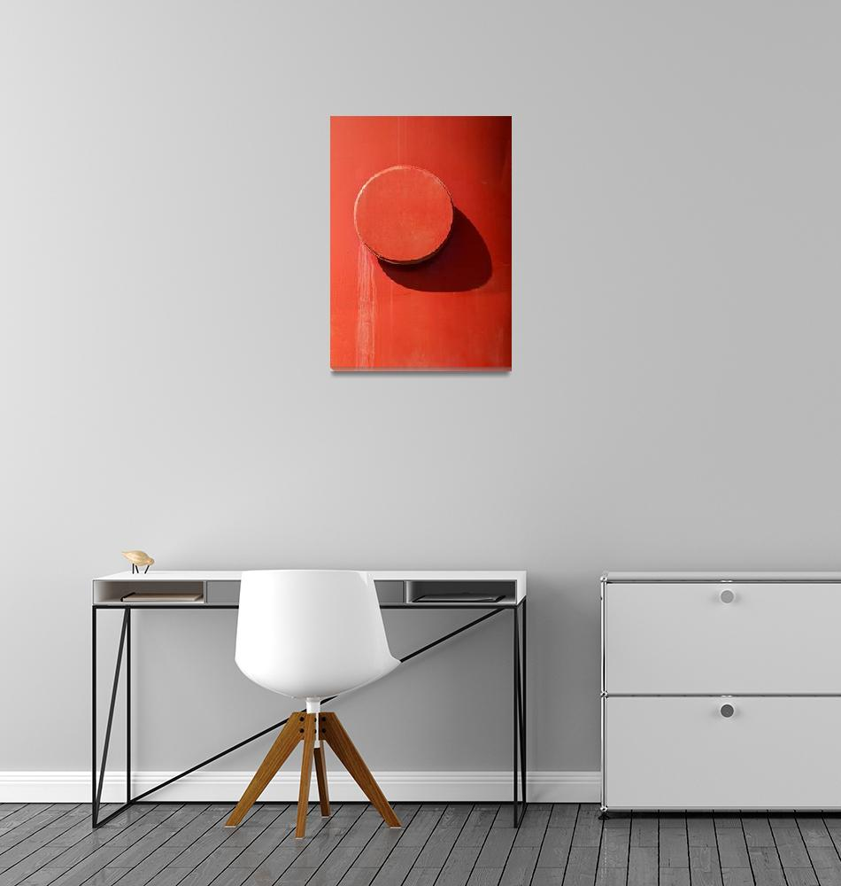 """""""Red Abstract 1""""  by billfehr"""