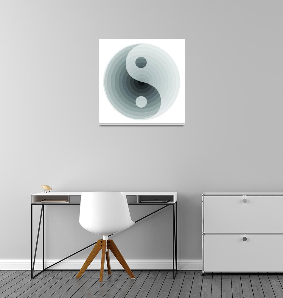 """""""zen grayscale black and white""""  (2008) by AngelaHayden"""