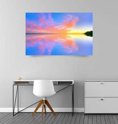 <b>Sunset Reflection at Forest Beach</b> by Christopher Seufert (2020)