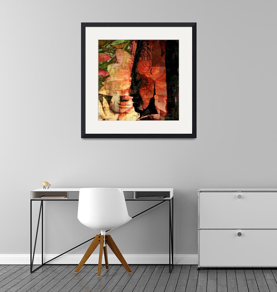 """""""Mouseworks-ArtPhotos-Faces-of-Bayon""""  by Mouseworks-ArtPhotos"""