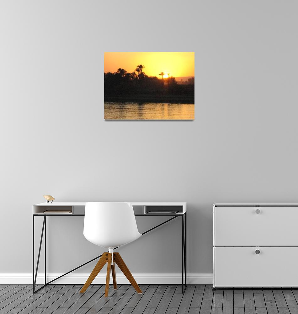 """""""Sunset over the Nile""""  by kapex"""