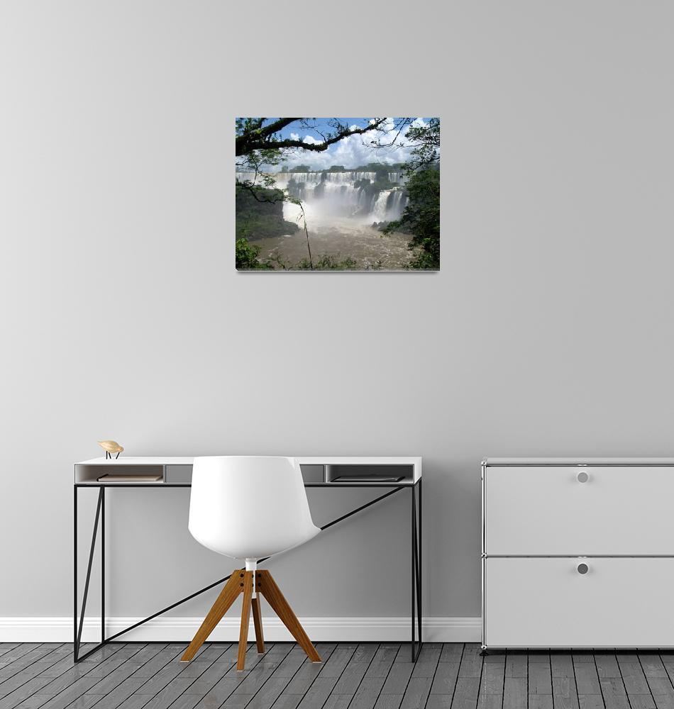 """The Iguazu Waterfalls""  (2009) by worldtravels"