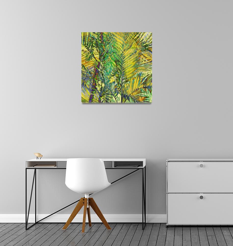"""Palms Waved""  (2013) by Leyland"