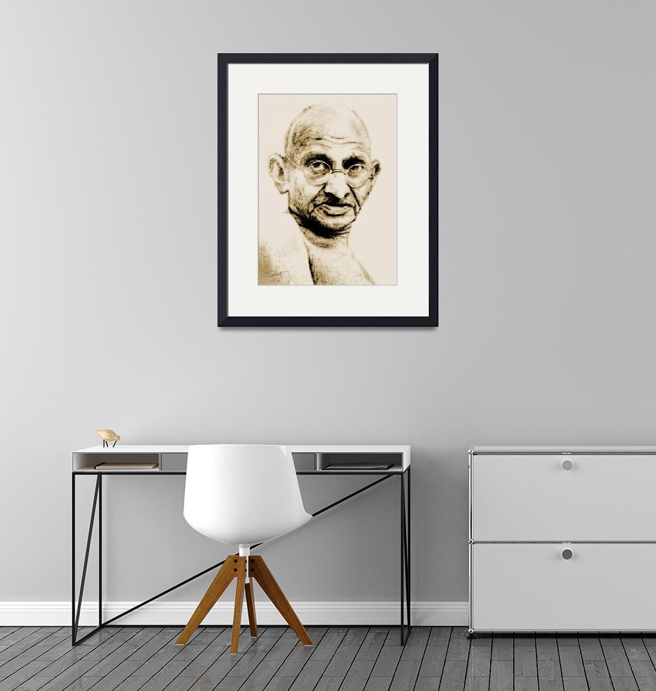 """""""The Mahatma"""" (2010) by spadecaller"""