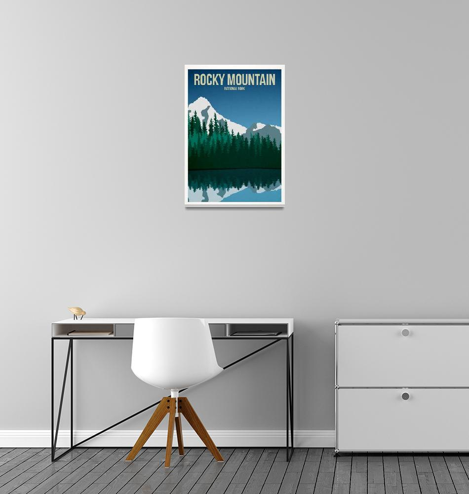 """Rocky Mountain National Park""  by HarknettPrints"