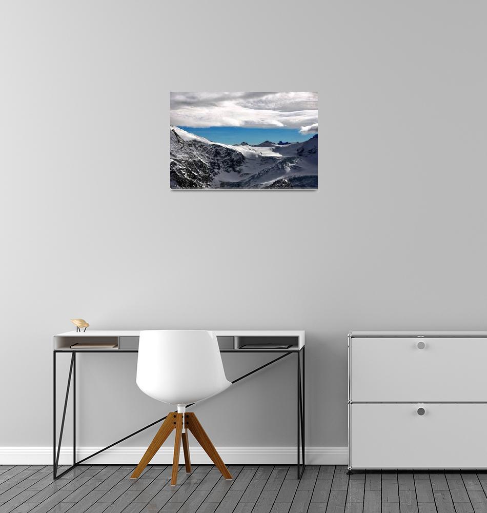 """Switzerland - Swiss Alps""  by Barrywright"