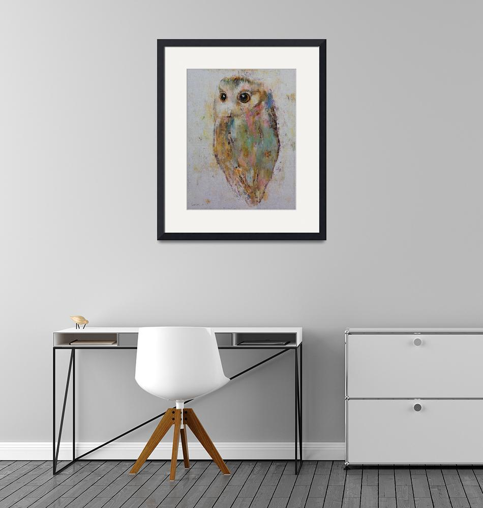 """Owl Painting""  by creese"