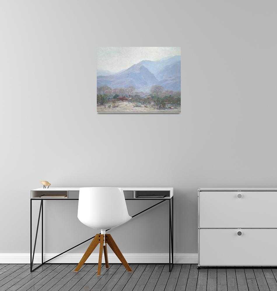 """Palm Springs Landscape with Shack""  by fineartmasters"