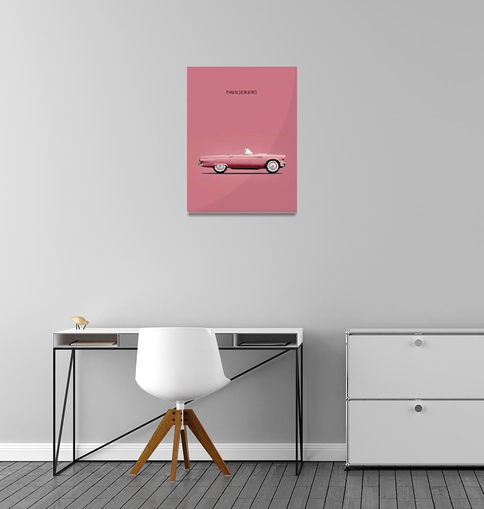 """The Pink Thunderbird""  (1957) by mark-rogan"