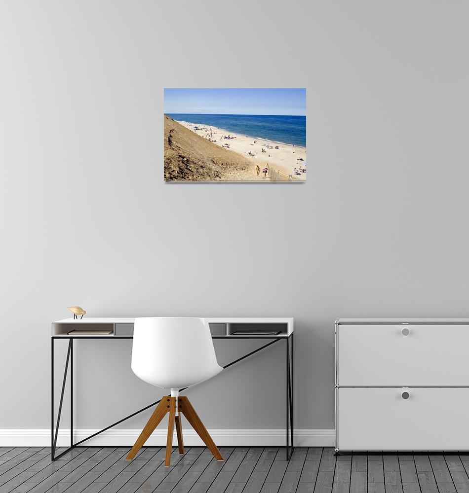 """""""Cahoon Hollow Beach #2""""  (2010) by ChrisSeufert"""