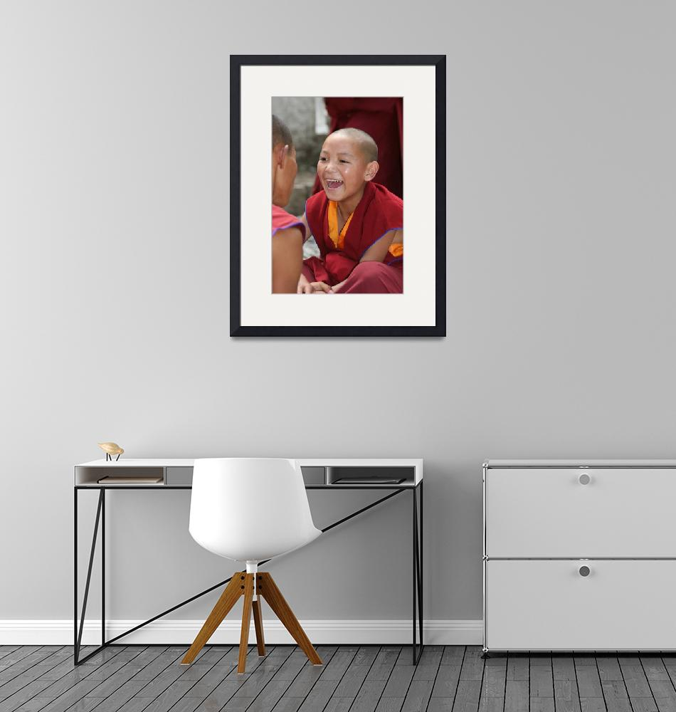 """Young Monk in Tibet""  by erick"