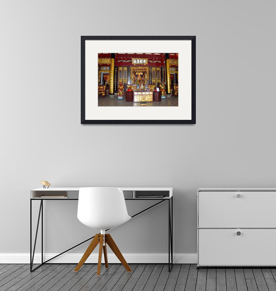 """""""Chinese Temple Altar""""  (2004) by JoaoPonces"""