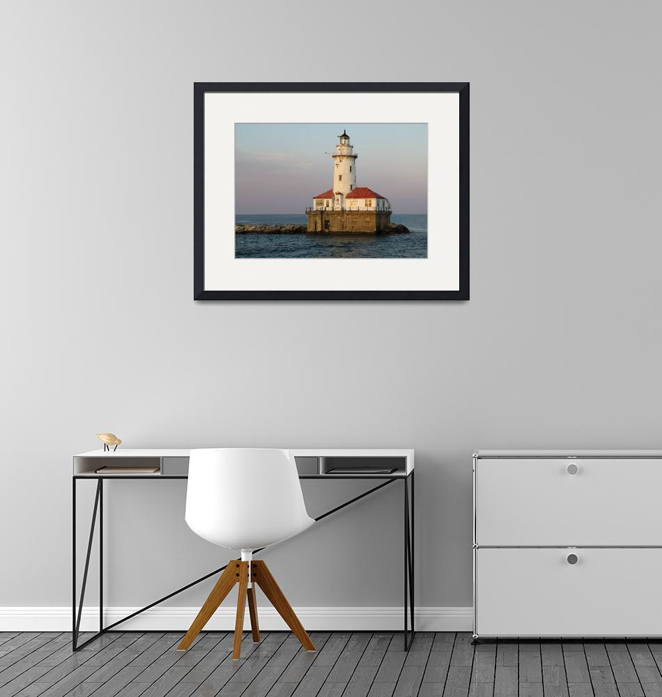 """""""Chicago Lighthouse"""" (2011) by Dullinger"""
