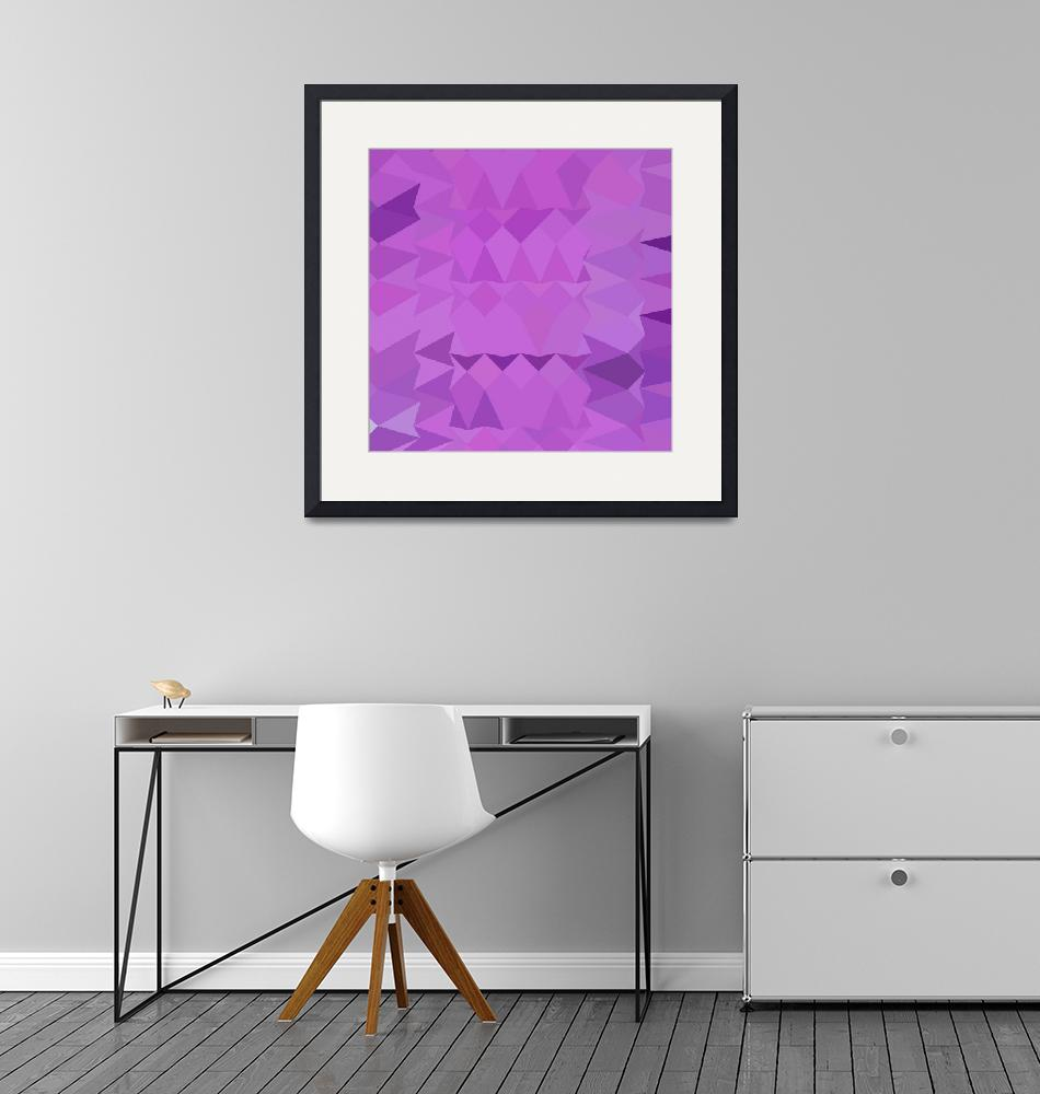 """""""Bright Lavender Abstract Low Polygon Background""""  (2015) by patrimonio"""