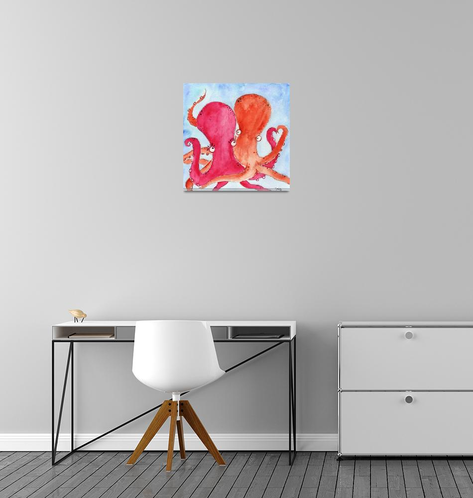 """Valentine Cephalopods""  (2010) by Imagiro"