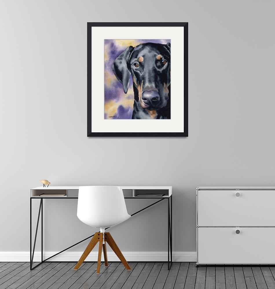 """Doberman Pinscher""  (2015) by k9artgallery"