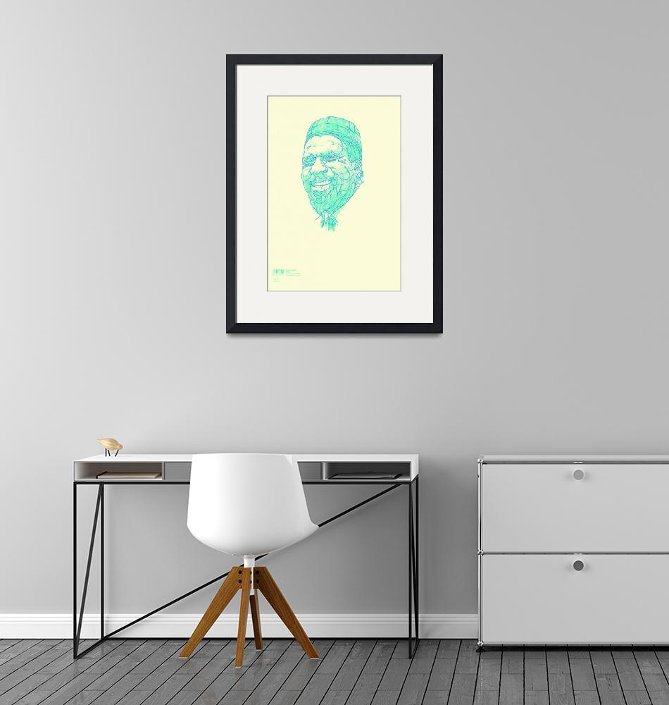 """""""Thelonious Monk""""  (2009) by oliverbarrett"""