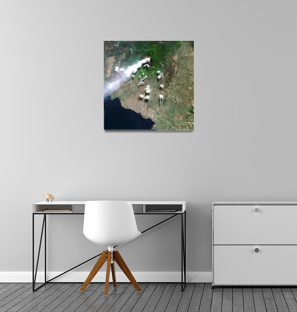 """""""Volcanoes National Park (Rwanda)""""  (2004) by astriumgeo"""