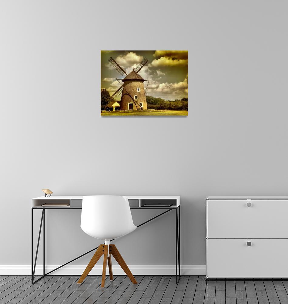 """Windmill#2""  (2008) by davidvigh"