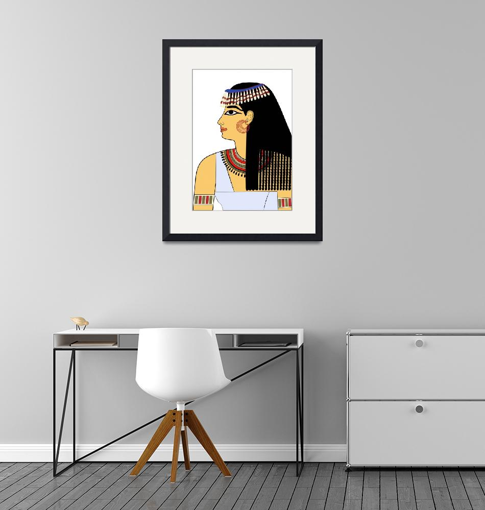 """""""Woman of Ancient Egypt""""  (2010) by lamich"""