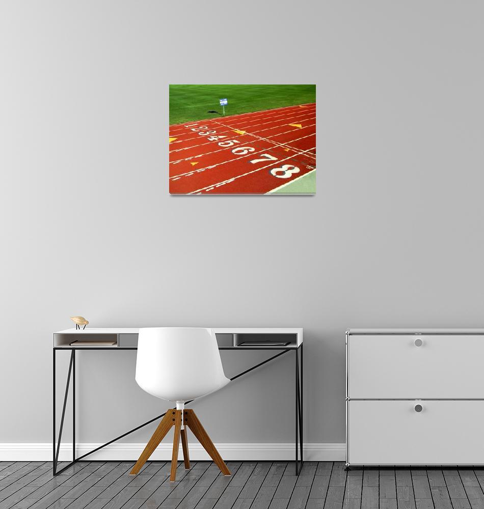 """Atlethics track""  (2010) by Bayardo"