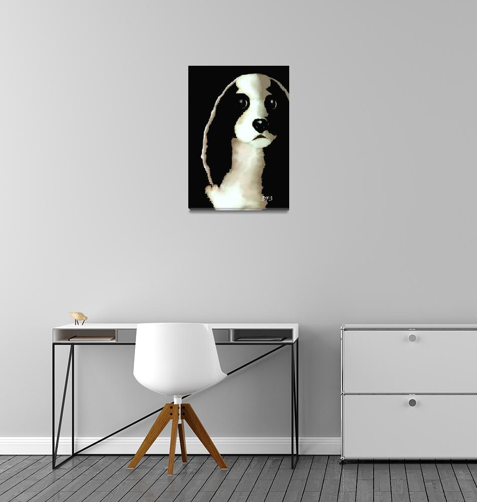 """""""8 - Mercedes -  SPLIT IMAGE - Our Cavalier King Ch""""  (2014) by dianestrain"""