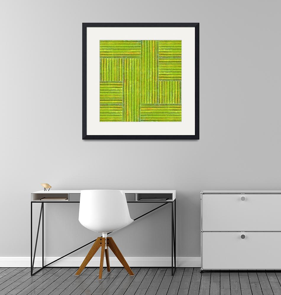 """""""Grassy Green Stripes"""" (2013) by Michelle1991"""