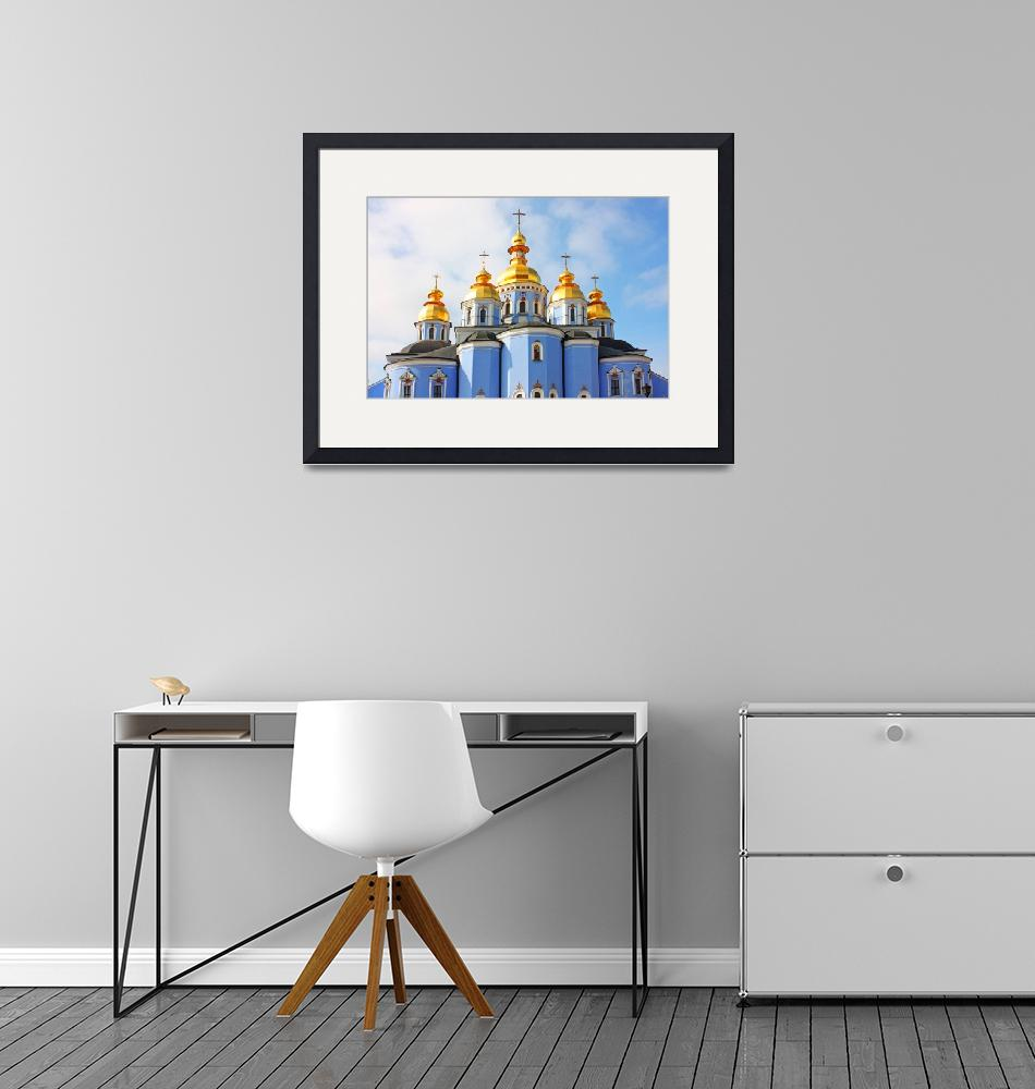 """""""St Michael cathedral in Kiev""""  by a1luha"""
