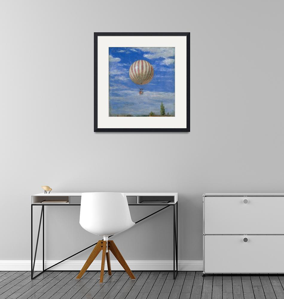 """""""Pál Szinyei Merse~The Balloon"""" by Old_master"""