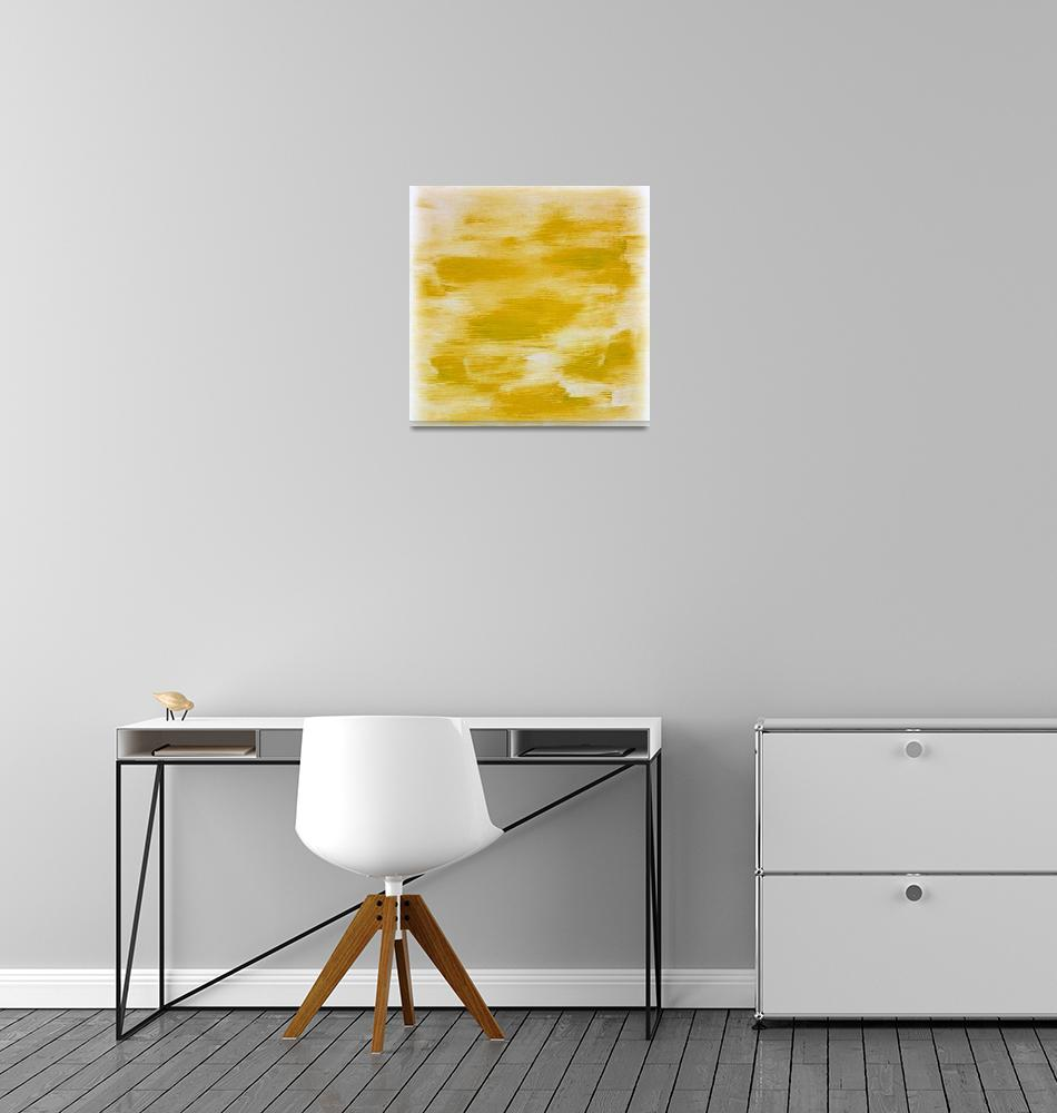 """""""Yellow Abstract""""  (2015) by jadeevalley"""