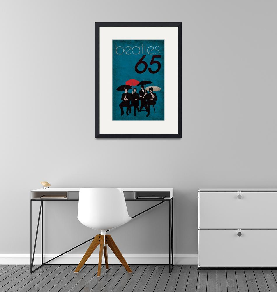 """""""Beatles 65 Poster""""  (2010) by MrBlonde"""