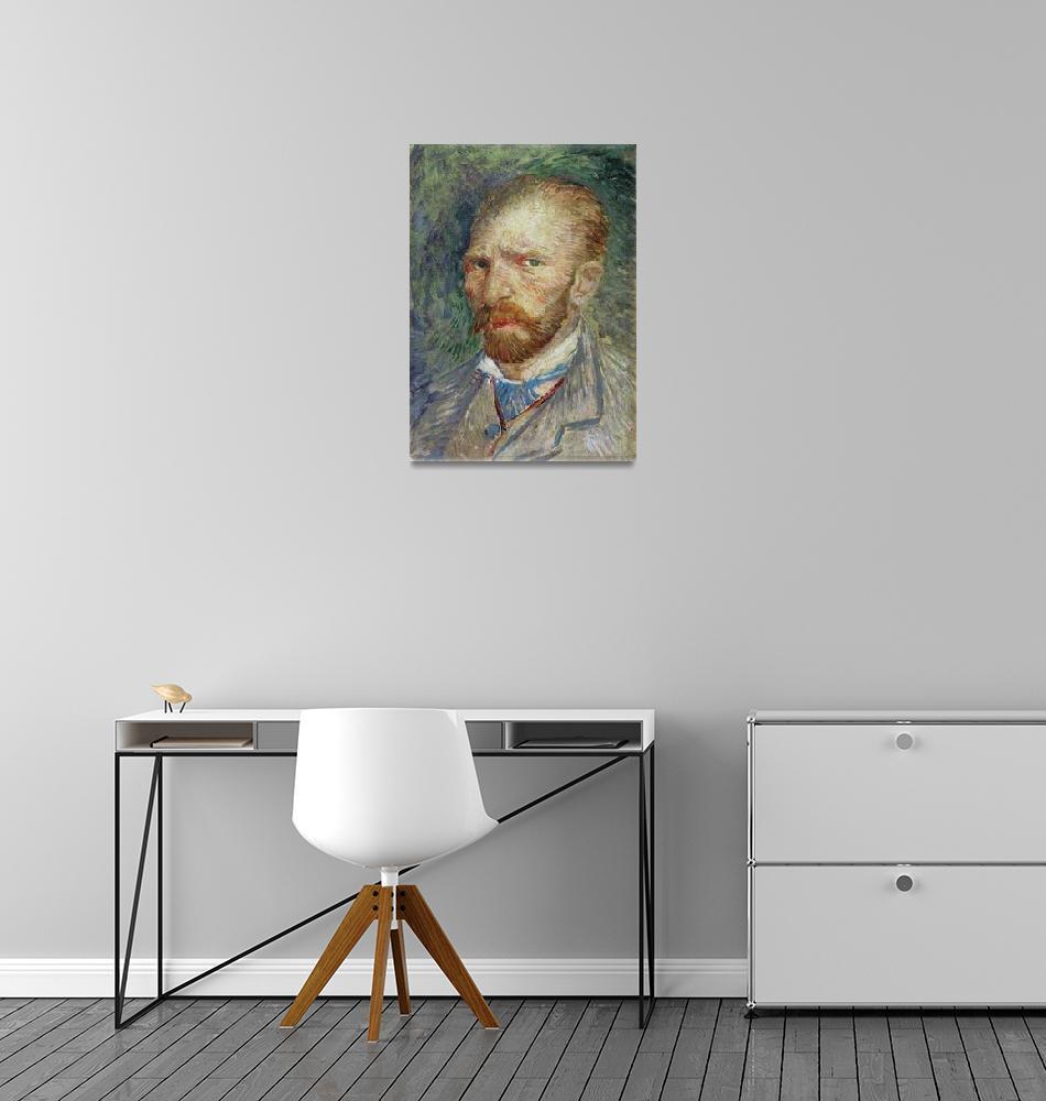 """""""Self Portrait, 1887""""  by fineartmasters"""