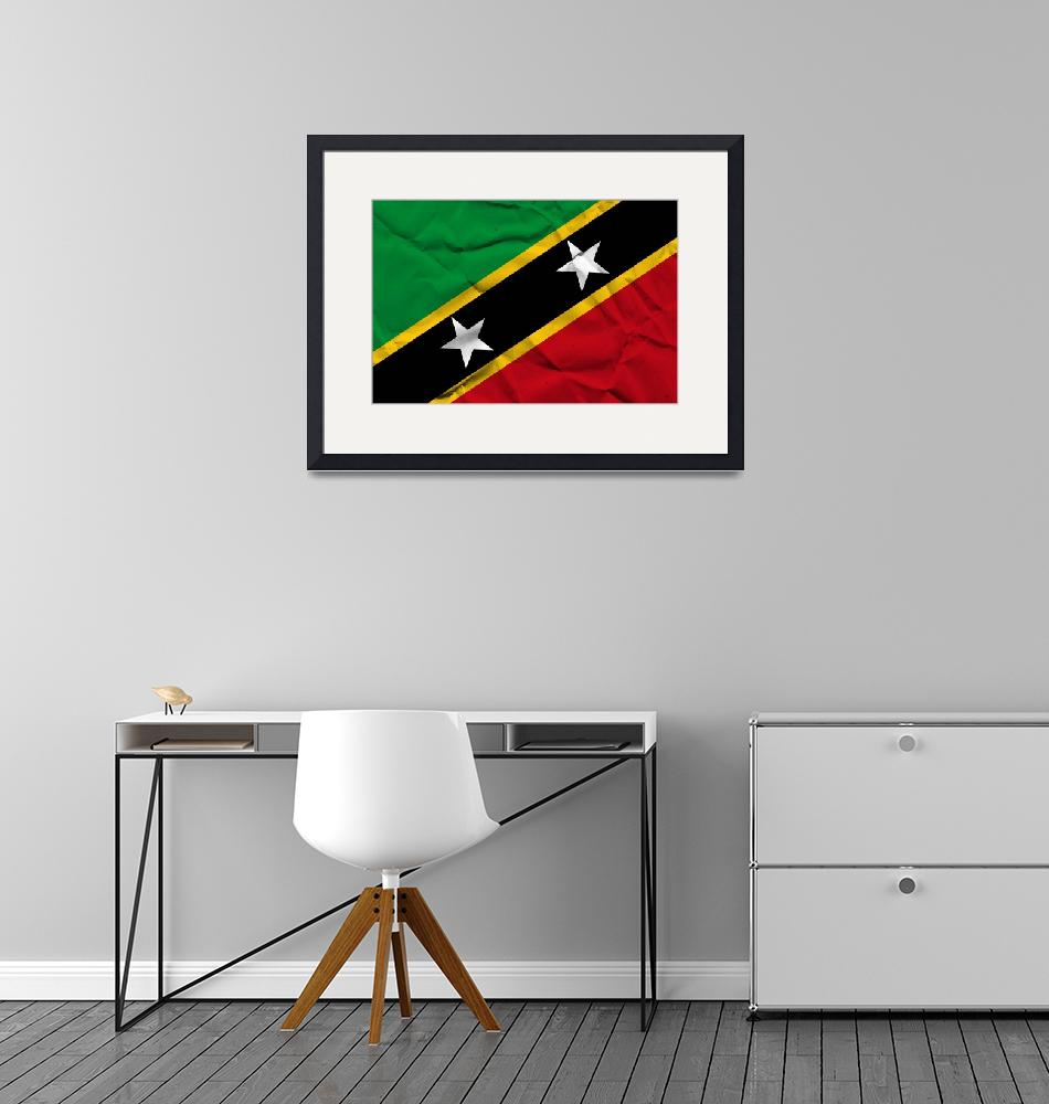 """Saint Kitts and Nevis-2""  (2014) by thegriffinpassant"