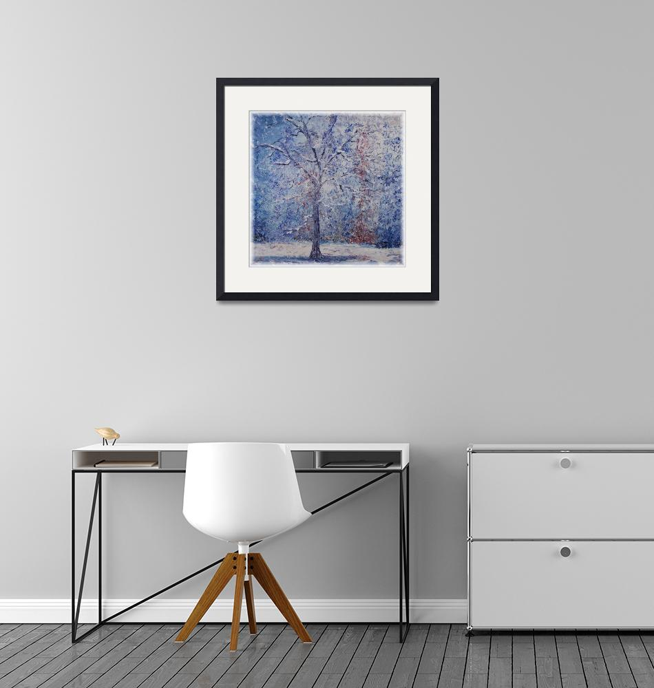 """Winter Trees""  (2007) by nadinerippelmeyer"